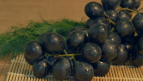 Grape in the Kitchen stock video footage