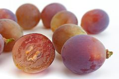 Grape `Lydia` closeup royalty free stock images