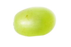 Grape macro. On white background Stock Image