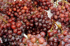 Grape in market for sell. Fresh grape in beautiful red color, in market for sell Stock Photography
