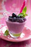Grape mousse Stock Image