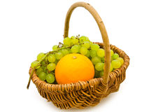 Grape and orange Stock Photo