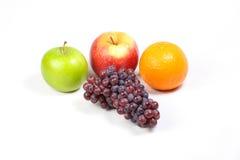Grape Orange Apple Stock Photography
