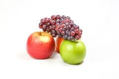 Grape Orange Apple Royalty Free Stock Photo