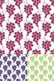 Grape. Pattern Stock Photography