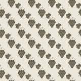 Grape pattern. Vine seamless background. Vector illustration. Grape pattern Vine seamless background. Vector illustration Stock Photo