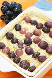 Grape pie Royalty Free Stock Images