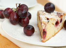 Grape pie Stock Photo