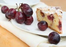 Grape pie piece Royalty Free Stock Image