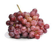 Grape on a plate Royalty Free Stock Image