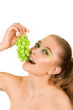 Grape portrait Stock Photo