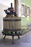 Grape press in Meersburg Royalty Free Stock Photos