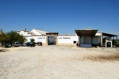 Grape processing plant, Montilla. Royalty Free Stock Photo