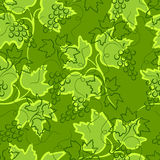 Grape seamless background. Royalty Free Stock Image