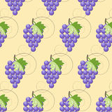 Grape seamless texture Royalty Free Stock Image