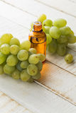 Grape seed oil Royalty Free Stock Photos