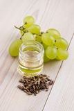 Grape seed oil Royalty Free Stock Photo