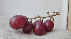 Grape. Seedless red grapes a fruit Stock Photo