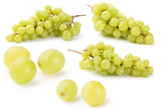 Grape, set of few full-size images Stock Photos