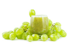 Grape smoothie Stock Photo