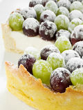 Grape tart Stock Photo