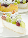 Grape tart Stock Photography