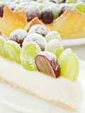 Grape tart Stock Photos