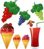 Grape theme Stock Photos