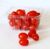 Grape Tomatoes #2. Grape tomatoes in a pile Stock Photography