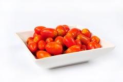 Grape tomatoes Stock Photography
