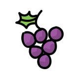 Grape Vector Royalty Free Stock Photo