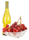 Grape and vine. Royalty Free Stock Images