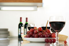 Grape and vine Stock Photo
