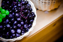 Grape vintage background Royalty Free Stock Images