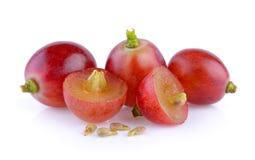Grape on white background Royalty Free Stock Photos