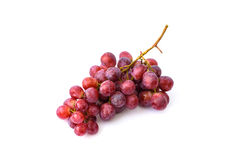 Grape on the white background. Fresh berry Royalty Free Stock Image