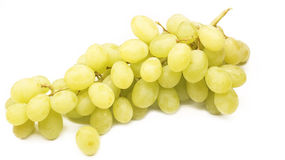 Grape  on white background with selective focus. Royalty Free Stock Image