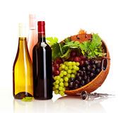 Grape wine Stock Photography