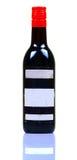 Grape wine bottle Stock Image