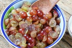 Grape wine, grape fruit, alcoholic fermentation Stock Photography