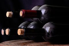 Grape wine. The true taste of wine which as music later time develops the value Royalty Free Stock Photo
