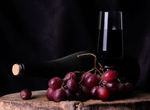 Grape wine. The true taste of wine which as music later time develops the value Royalty Free Stock Images