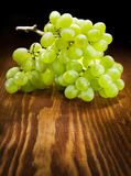 Grape on wooden board Stock Image