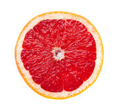 Grapefruit. Natural image of grapefruit, isolated on the white background Stock Images
