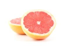 Grapefruit. Red grapefruit isolated on white Stock Photography