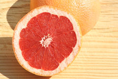 GrapeFruit. Ruby GrapeFruit Stock Image
