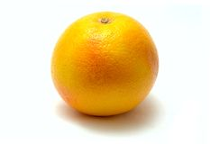 Grapefruit. Close-up view og grapefruit on white background stock photo