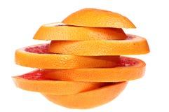 Grapefruit Royalty-vrije Stock Foto's