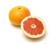 Grapefruit 4. Grapefruit isolated on the white stock image