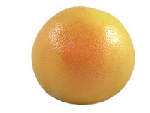 Grapefruit. Isolated on a white background. Close-up Royalty Free Stock Photography